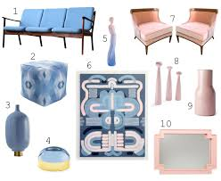 serenity blue & rose quartz decor